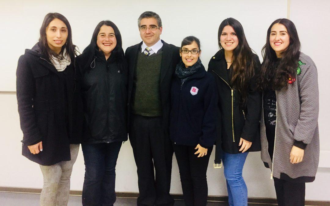 Reunión D. de Idiomas, Facultad de Pedagogía en Inglés U. Autónoma y CNA