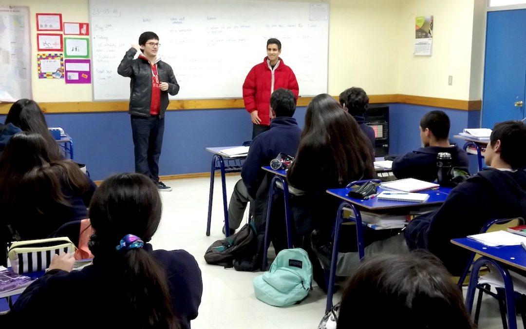 Visita de Nuestros Alumnos Egresados
