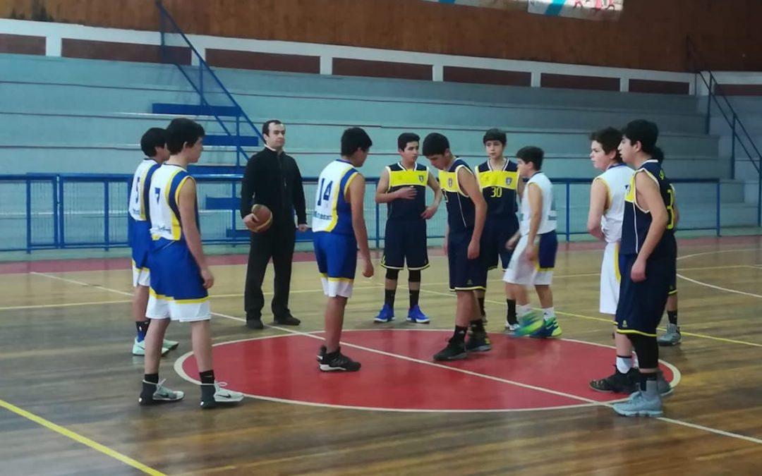 Cuartos de Final Baloncesto SUB14 JDE | Colegio Montessori Talca