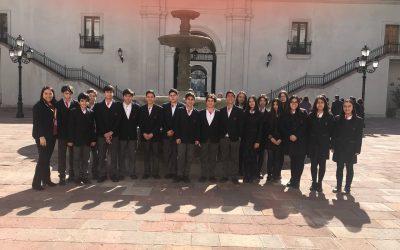 Viaje Pedagógico a La Moneda y Ex Congreso Nacional