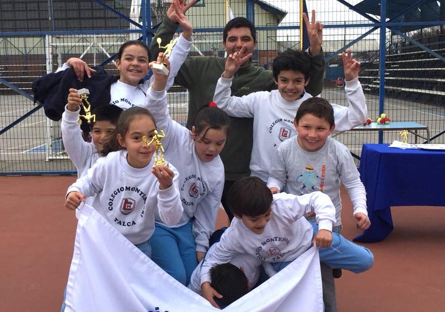 Copa Tenis Montessori Categoría Roja