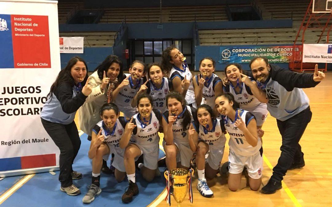 Tetracampeonas Regionales del Baloncesto JDE