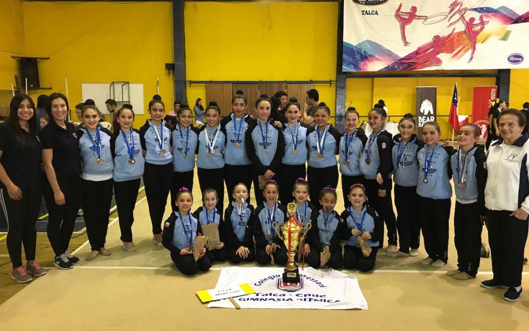 Campeonas Copa UCM de Gimnasia Rítmica