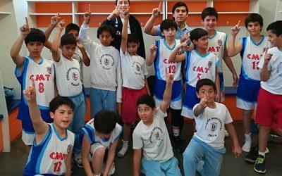 Campeones Liga Activa Talca U12 Baloncesto