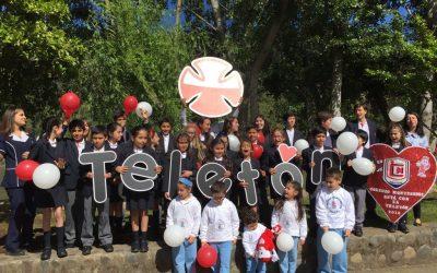 Grabación cápsula de la Teletón en Rio Claro