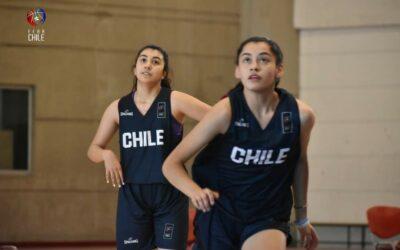 Renata Poblete preseleccionada chilena U15