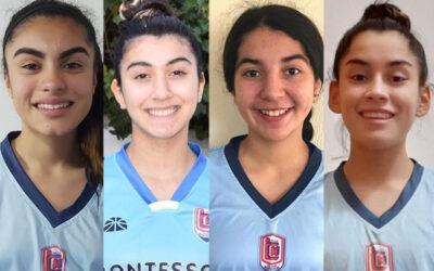 Jugadoras del Club Montessori convocadas a la Preselección Nacional U16 de básquetbol