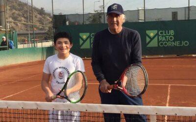 Renato Fritz Muena entrenando con Patricio Cornejo