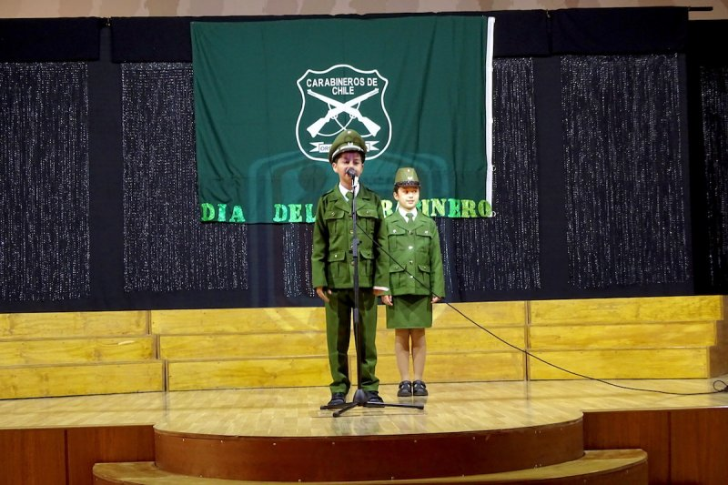 """Acto Cívico """"Día del Carabinero"""""""