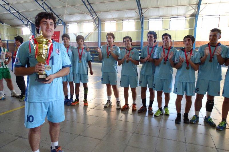 Campeones Regionales Balonmano SUB16 JDE