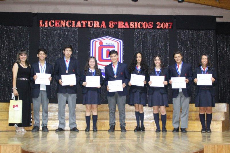 Licenciatura 8º Básico 2017