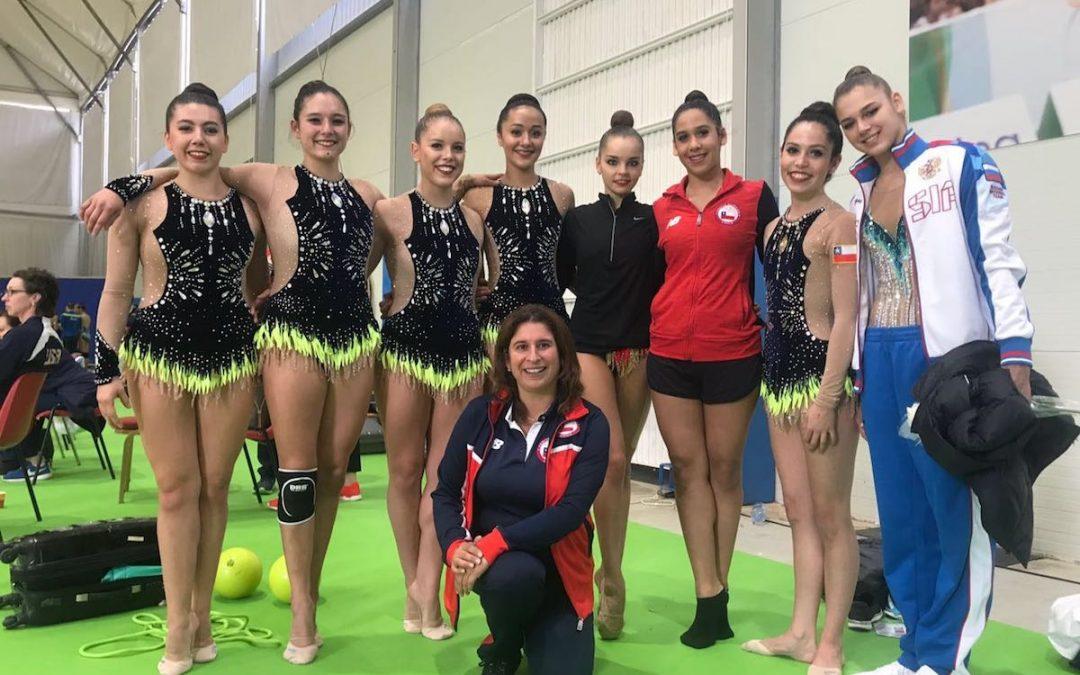 Javiera Aravena en Mundiales de España y Portugal