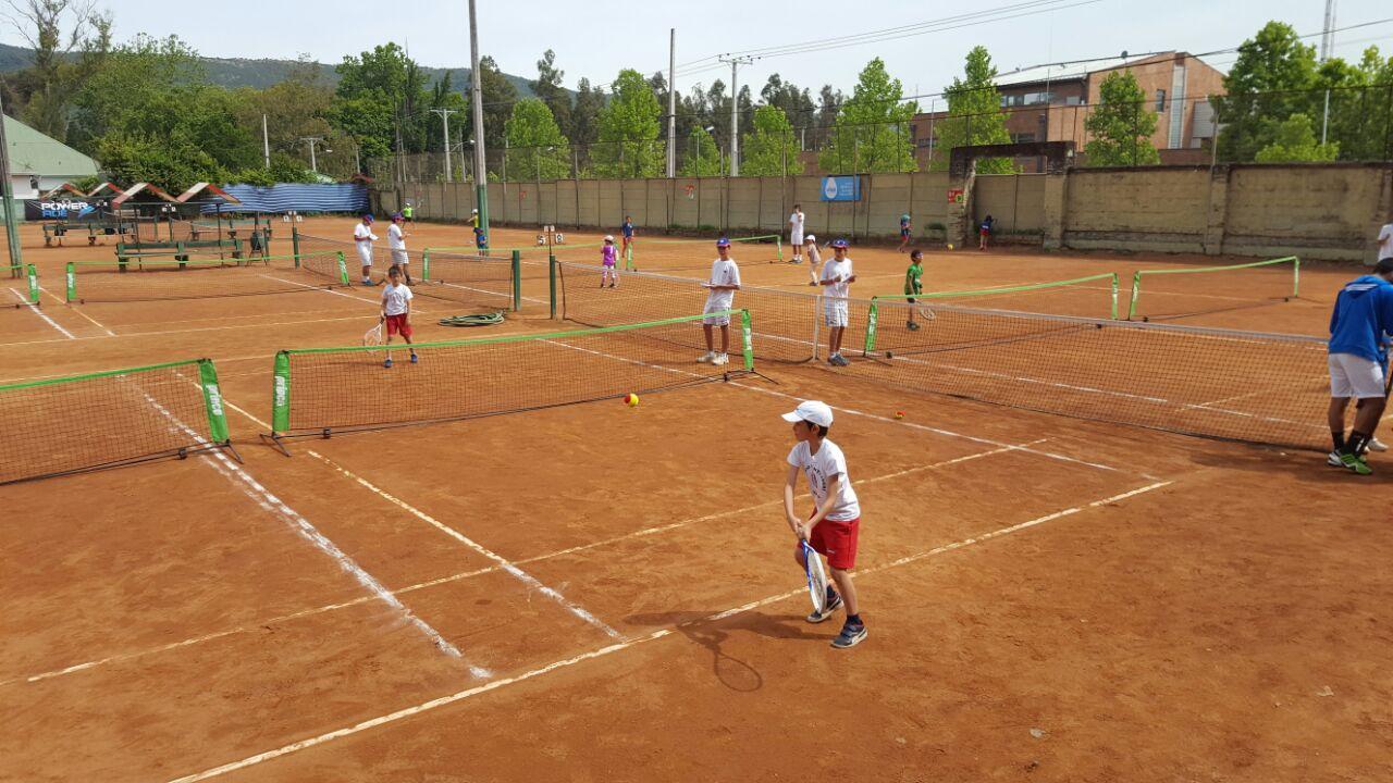 Circuito Tenis : Última fecha circuito nacional tenis colegio montessori